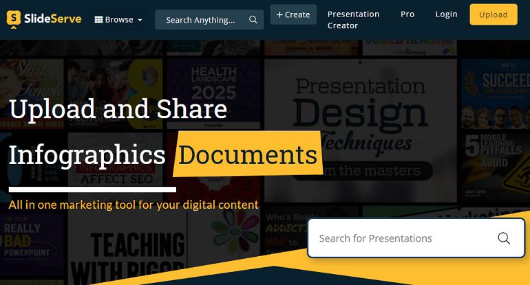 Best Online Presentation Maker - SlideServe
