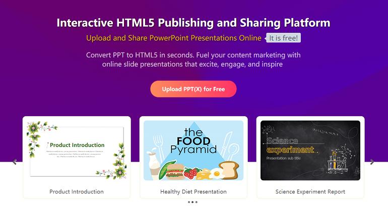 Online Presentation Tool - SlideHTML5