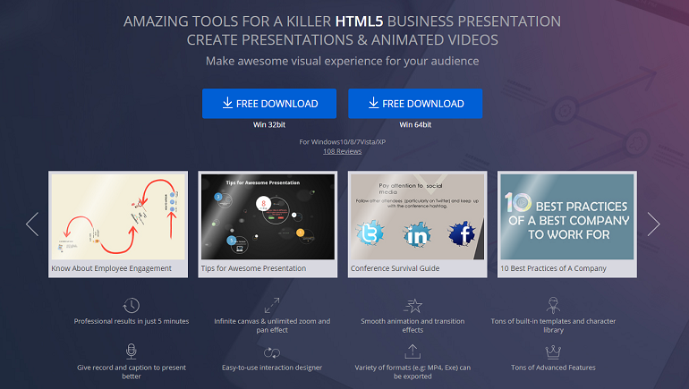 PowerPoint to HTML Converter - Focusky