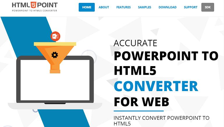 PowerPoint to HTML Converter - HMLT5Point