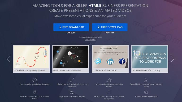 Free Interactive Presentation Tools - Focusky