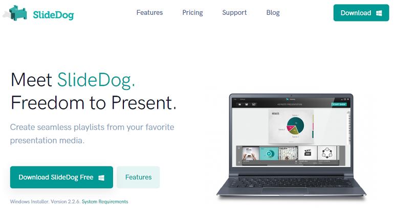 Google PowerPoint Online Alternative - SlideDog