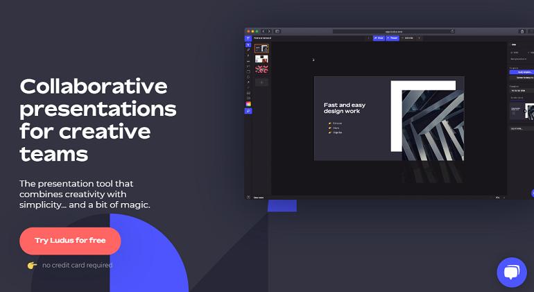 Online Presentation Maker to Create PPT Online - Ludus