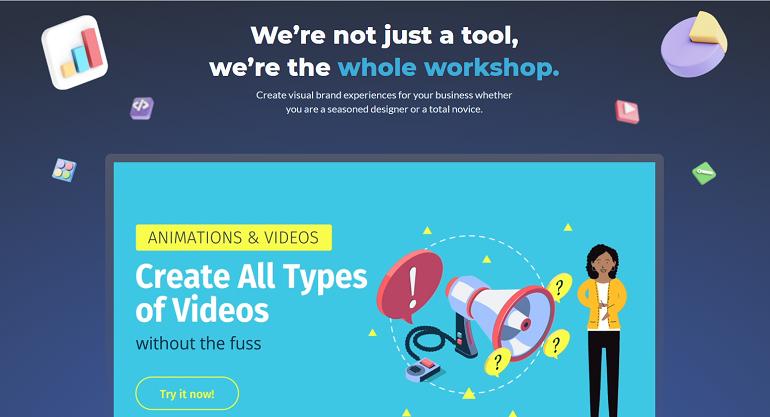 online presentation maker - Visme
